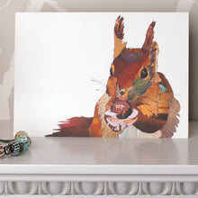 'Big Squirrel'- Greetings Card