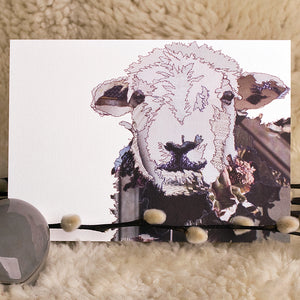 'Hefty the Herdwick Sheep' - Greetings Card