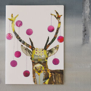 'PARTY ANIMAL' - Xmas Card - CK0117