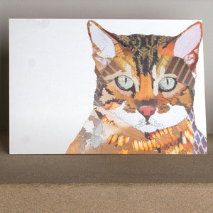 'Bengal Cat' - Greetings Card