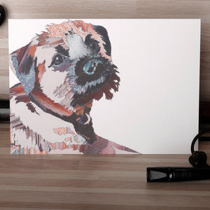 'Border Bert' - Greetings Card - CK0122