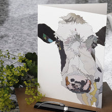 'Morning Moo' - Greetings Card