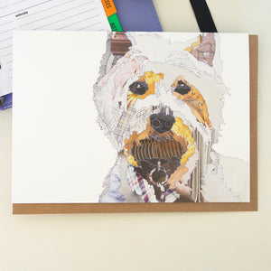 'West Highland Hamish' - Greetings Card / Print - CK0133