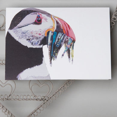 'Puffin' - Greetings Card