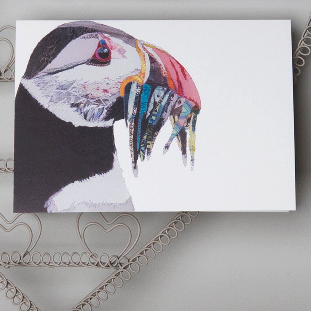 'Puffin' - Greetings Card - CK0137