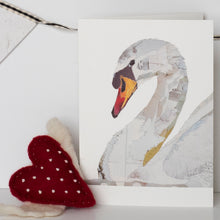 'Swan' - Greetings Card