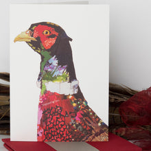 'Pleasant Pheasant' - Greetings Card