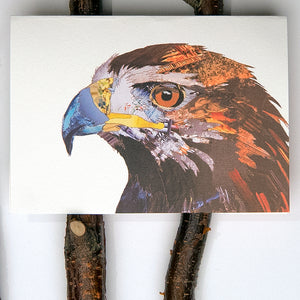 'Golden Eagle' - Greetings Card