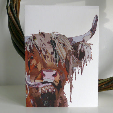 'Highlander' - Greetings Card