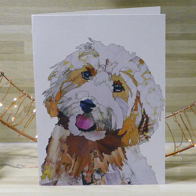 'Cockapoo' - Greetings Card