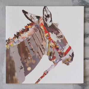 'Heading East - Donkey' - Christmas Card - CKX10