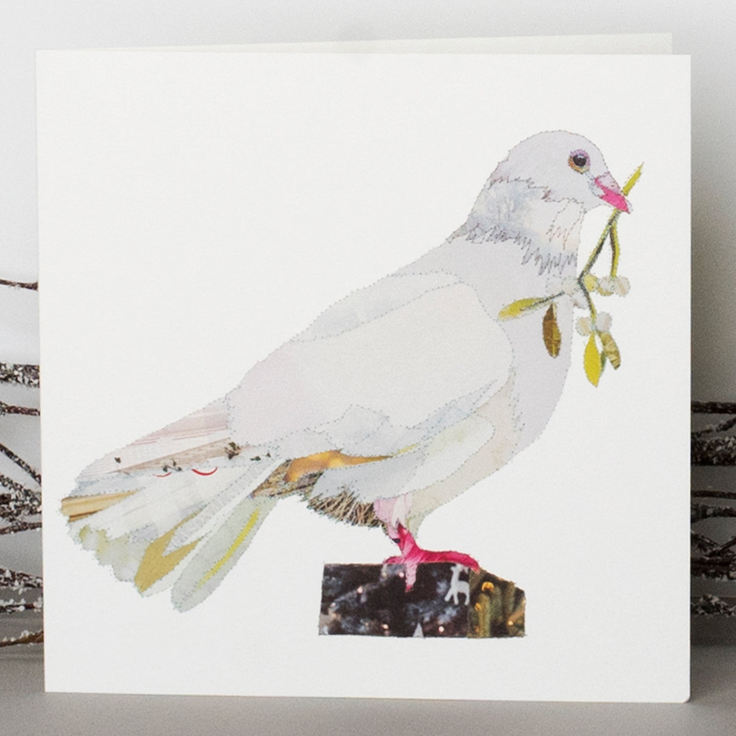 'Xmas Dove' - Christmas Card