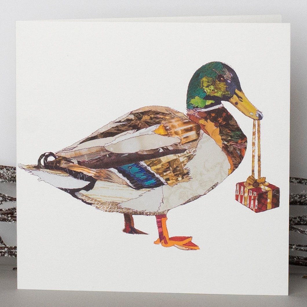 'Xmas Duck' - Christmas Card