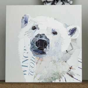 'White Polar Bear' - Christmas Card - CKX15