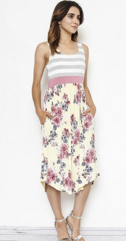 Dusty Rose Maxi