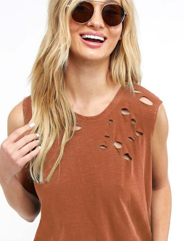 Rustic Distressed Tank