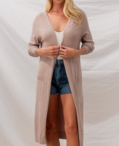 Cozy cardi (Dusty Liliac)