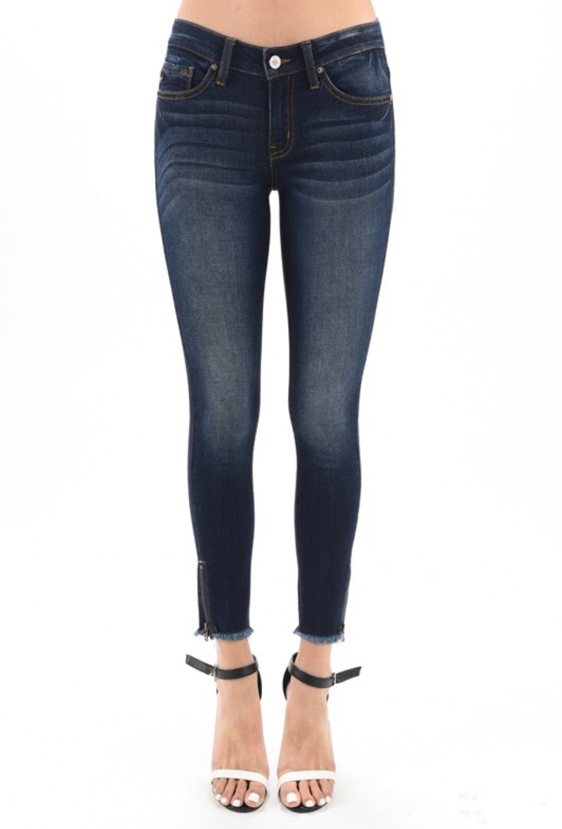Our Obsession Zipper Jeans!