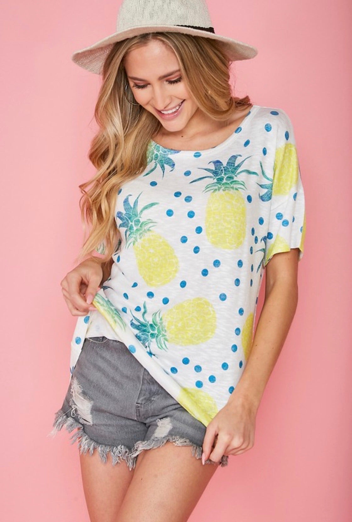 Pineapple Craze Tee!!