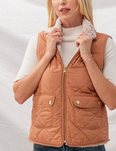 Clay Puffer Vest