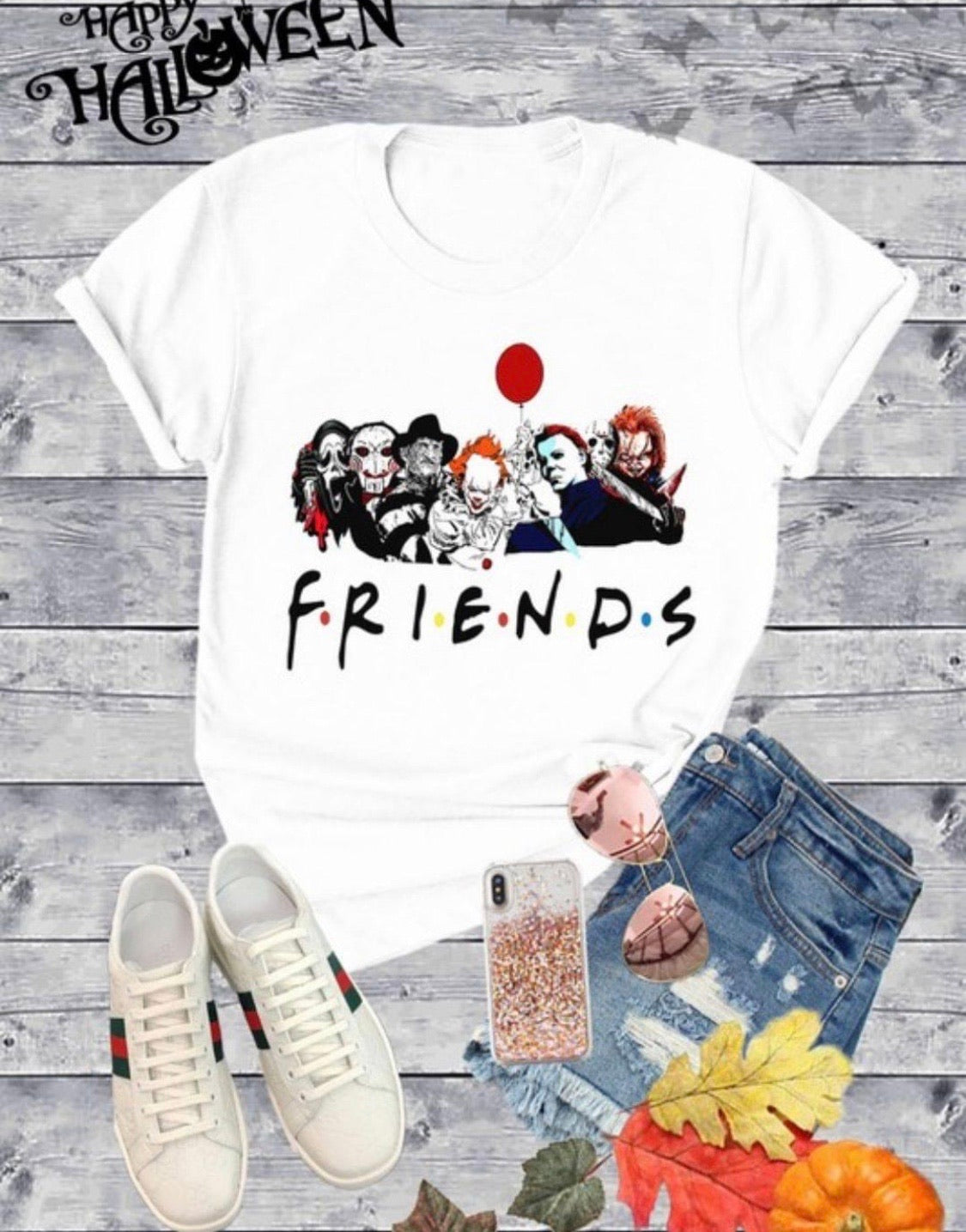 Friends Halloween Tee