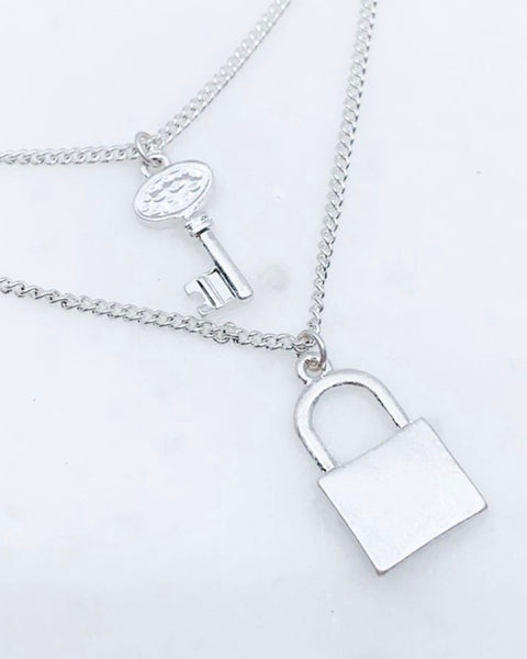 Lock and Key necklace