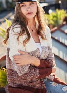 Chocolate Kiss Cardigan