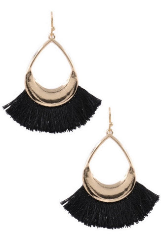 Best Fringe Teardrop Earrings