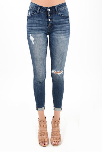 Button Fly Denim