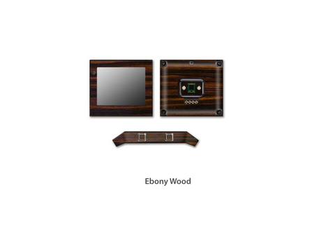Ebony Wood Fitbit Blaze skins Stickerboy