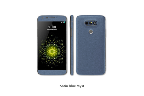 Satin Blue Myst LG G5 Skins Stickerboy