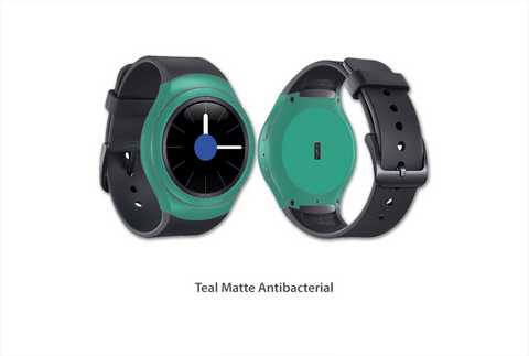 Teal Matte Gear S2 Skins Stickerboy