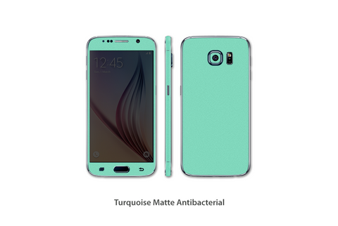 Turquoise Tiffany Matte S7 Skins Stickerboy