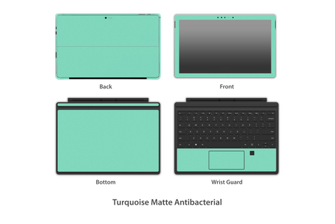 Turquoise Tiffany Matte Surface Pro 4 Skins Stickerboy