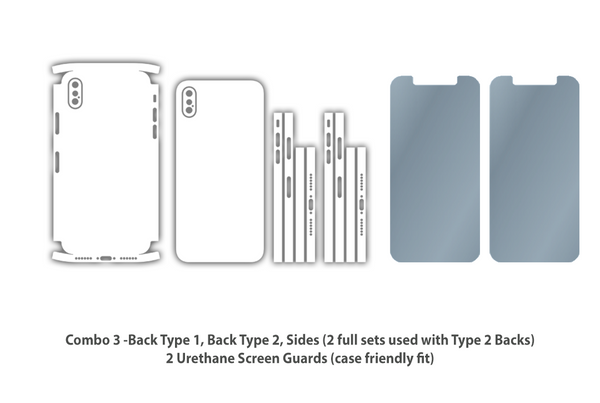 new styles fd4ac 5cf1f iPhone X 10 - Skin/Wrap Collection