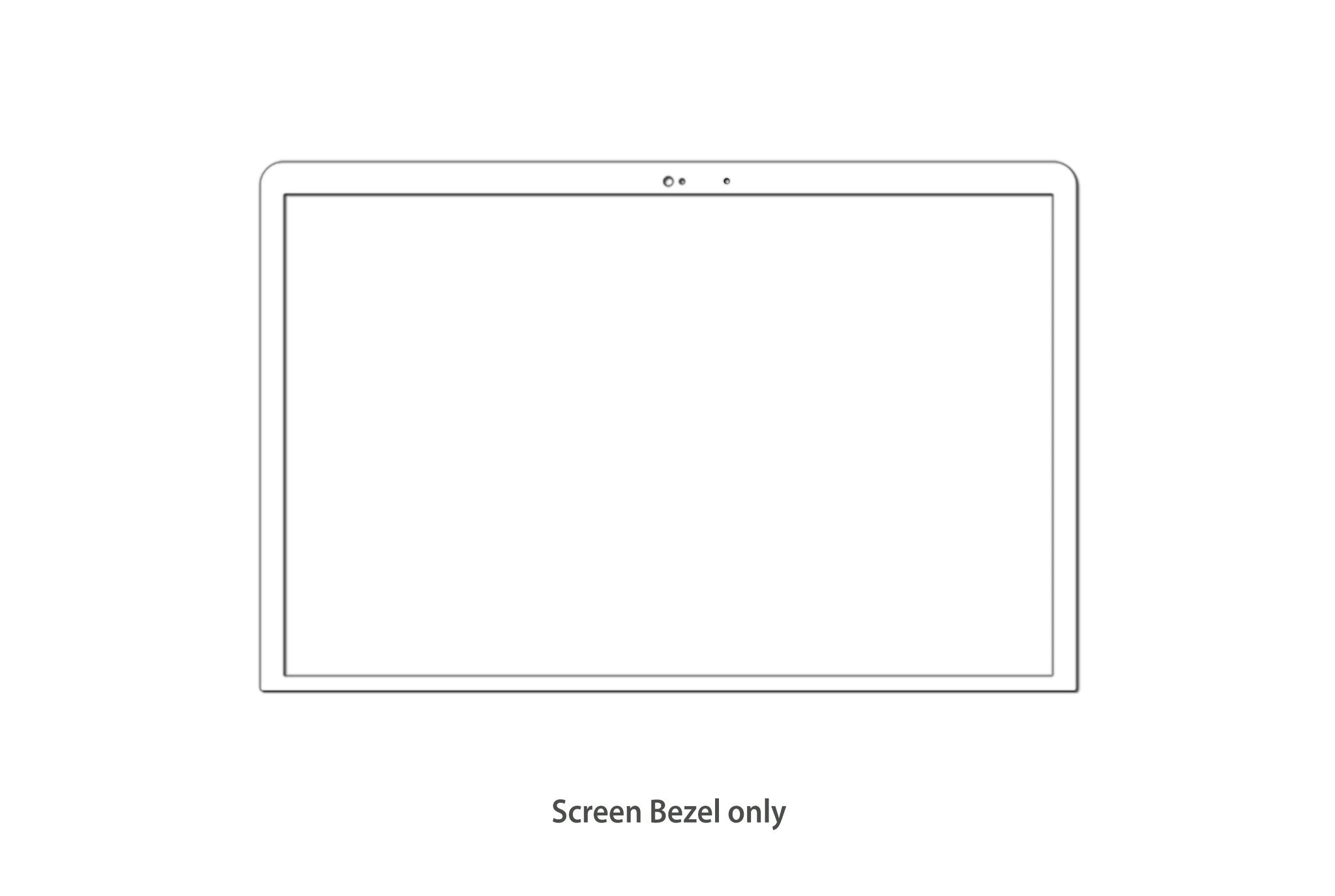 "LCD Screen / Display Front Bezel Cover FOR MacBook 12 "" Inch ..."