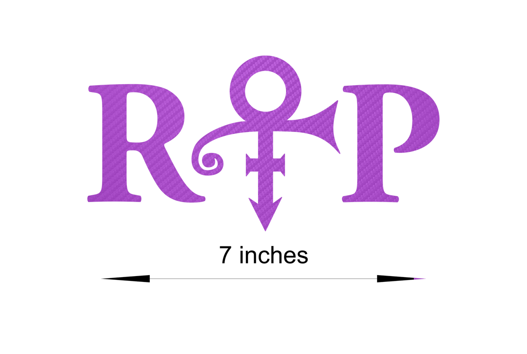 Car sticker design shop - Prince Love Symbol Stickers Decal 60013 Carbon Fiber From 10 45