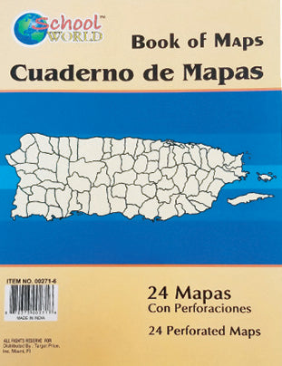 Perferated Map Book