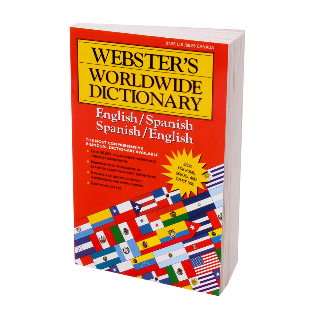 Webster's ESP/ENG Dictionary 320pg
