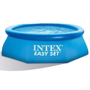 Intex 10ft x 30in Inflatable Easy Set Outdoor Pool (filter not included) Limit 2 per customer