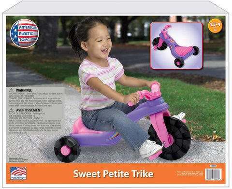 Sweet Petite Trike - Purple and Pink Tricycle