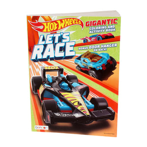 192 pg Hot Wheels Coloring Book