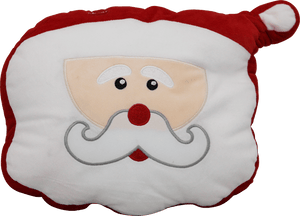 Lighted Stuffed SANTA Decorations with LED Lights
