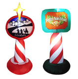 4ft tall Illuminated Air-blown Lampost (EACH SOLD SEPERATELY)