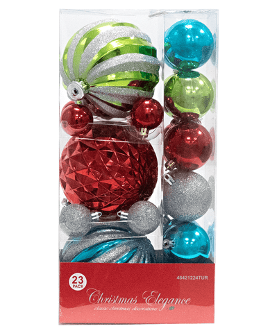 Ornament Christmas Collection 23 PK (EACH PACK SOLD SEPARATELY)
