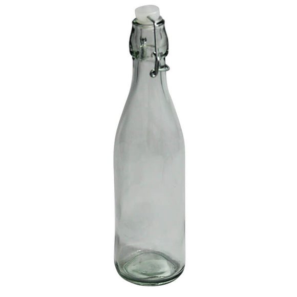 24 Clear Coquito Bottles of .5 Liter $0.98 ea.