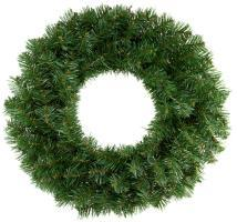 Green Pine Artificial Branches Wreath 24""