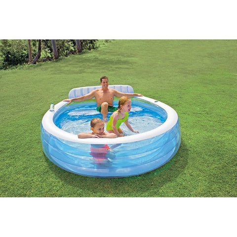 Intex Swim Center Family Lounge Outdoor Pool