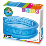 "Intex 74"" x 18"" Inflatable Blue Pool"