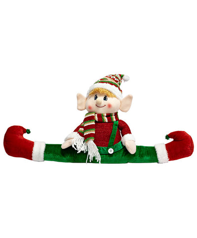 """Split Legs"" Christmas Plush Elf"